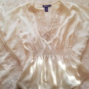 VIVIENNE TAM feminine chic blouse.
